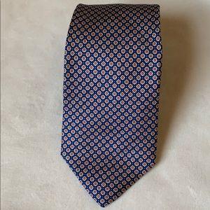 Brooks Brothers silk flower tie